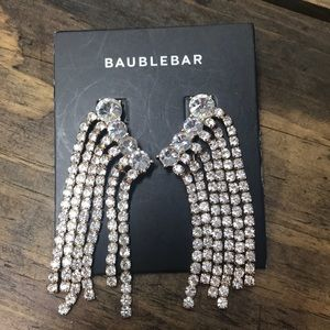 Baublebar rhinestone pierced earrings